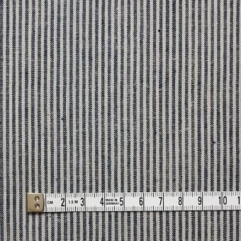 コットン&リネン×ストライプ(コームストライプ)×薄キャンバス_全2柄 サムネイル4