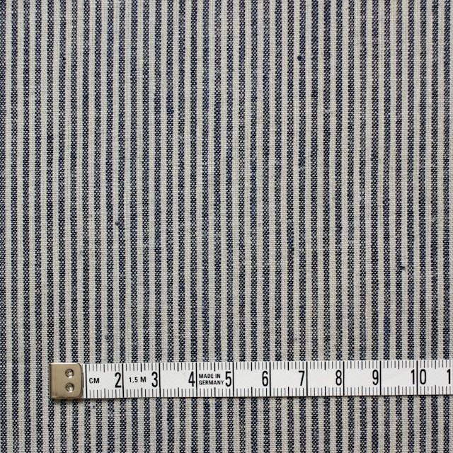 コットン&リネン×ストライプ(コームストライプ)×薄キャンバス_全2柄 イメージ4
