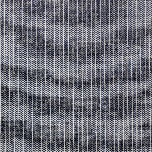 コットン&リネン×ストライプ(ピンストライプ)×薄キャンバス_全2柄 イメージ1