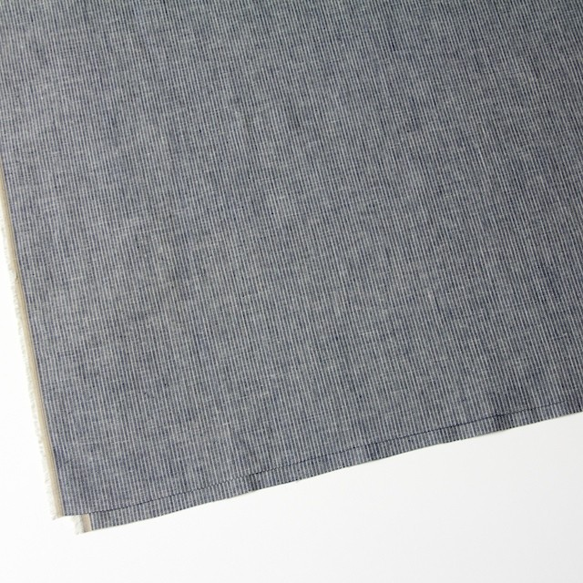 コットン&リネン×ストライプ(ピンストライプ)×薄キャンバス_全2柄 イメージ2