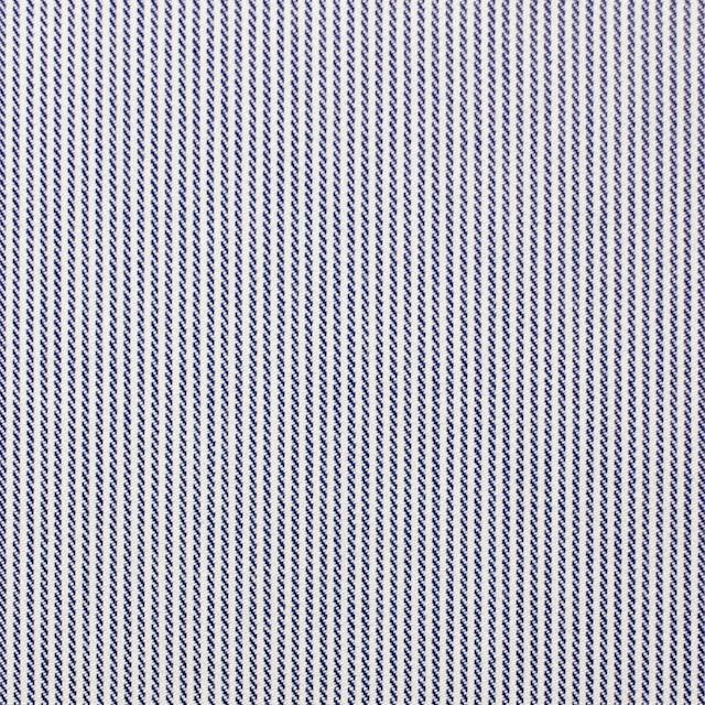 コットン×ストライプ(ネイビー)×サテン_全2色 イメージ1
