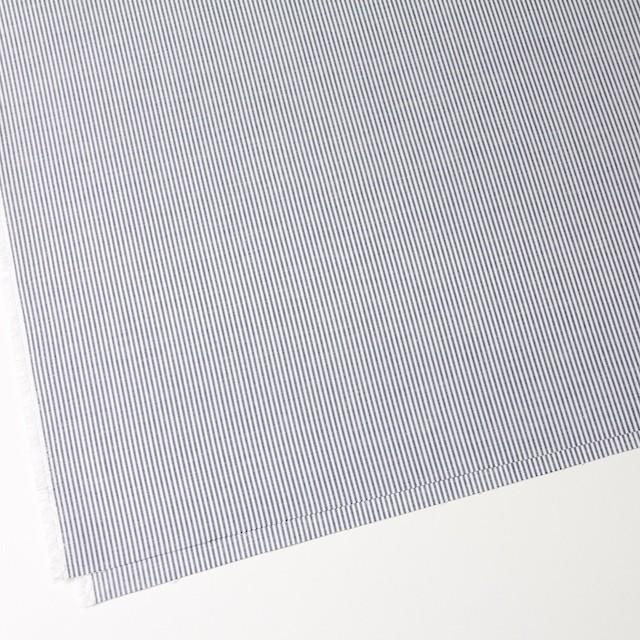 コットン×ストライプ(ブルー)×オックスフォード イメージ2