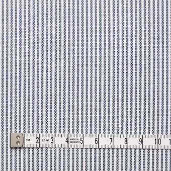コットン×ストライプ(ブルー)×オックスフォード サムネイル4