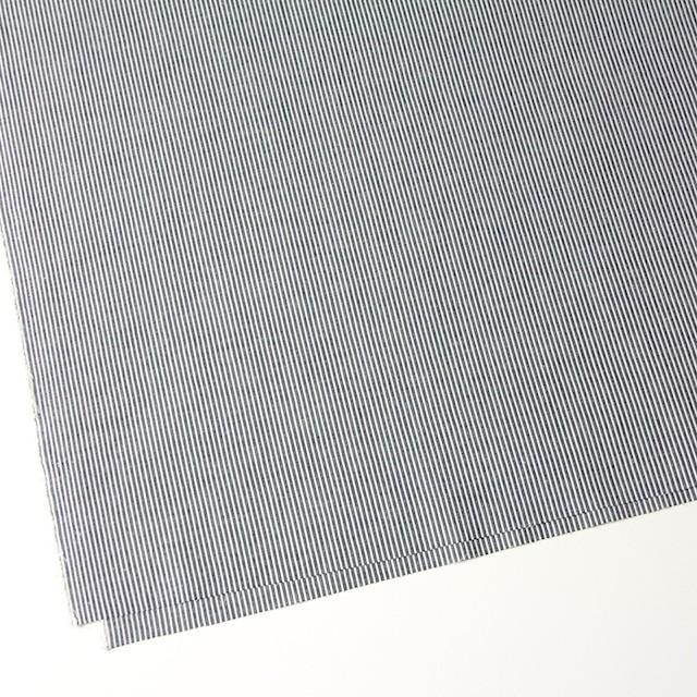 コットン&リネン×ストライプ(ダークネイビー)×コードレーン イメージ2
