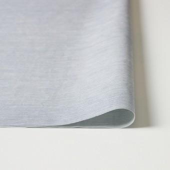 コットン&リネン×ボーダー(ブルー)×ブロード_イタリア製 サムネイル3