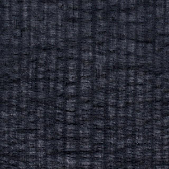コットン×ストライプ(ブラック)×ボイルサッカー_全2色 イメージ1