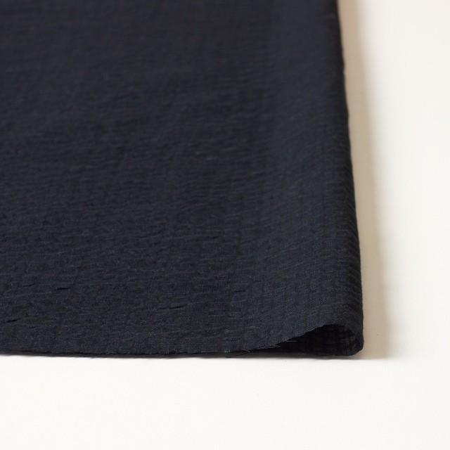 コットン×ストライプ(ブラック)×ボイルサッカー_全2色 イメージ3