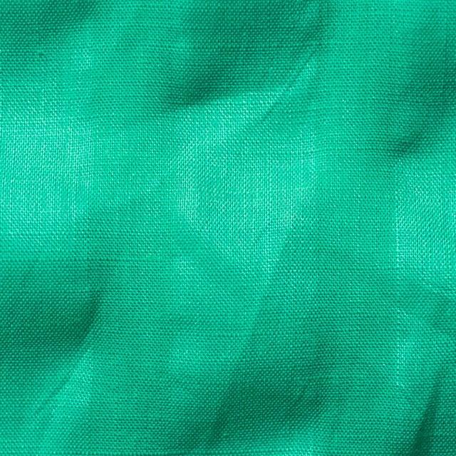 リネン×無地(エメラルドグリーン)×サッカー_全2色 イメージ1