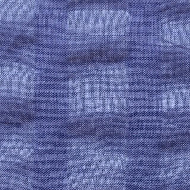 リネン×無地(オリエンタルブルー)×サッカー_全2色 イメージ1
