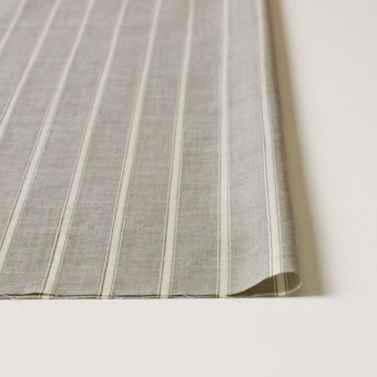 コットン&リネン×ストライプ(カーキベージュ)×薄ダンガリー_全3色 サムネイル3
