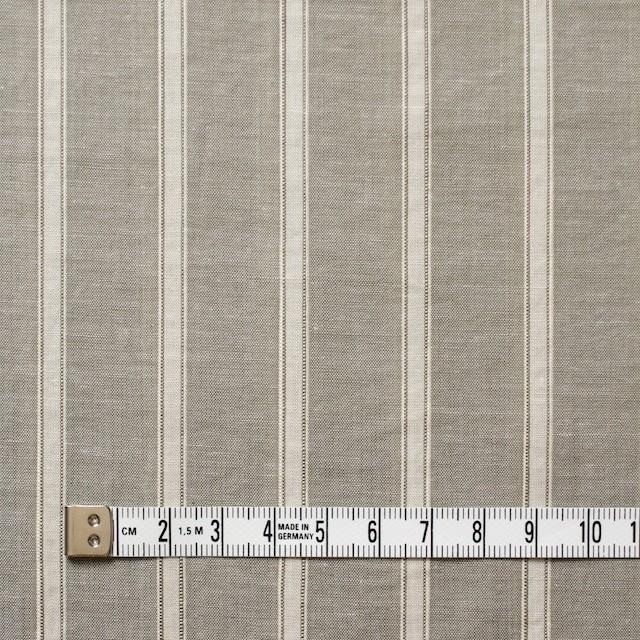 コットン&リネン×ストライプ(カーキベージュ)×薄ダンガリー_全3色 イメージ4