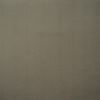 コットン×無地(カーキグレー)×ギャバジン(パラフィン加工) サムネイル1
