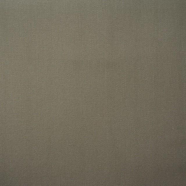 コットン×無地(カーキグレー)×ギャバジン(パラフィン加工) イメージ1