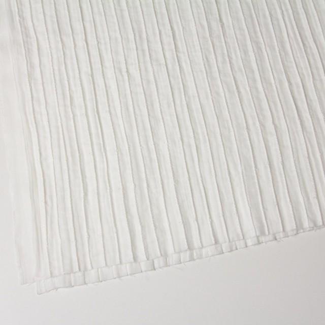ナイロン&コットン×無地(オフホワイト)×ボイル&ガーゼ_全2色 イメージ2