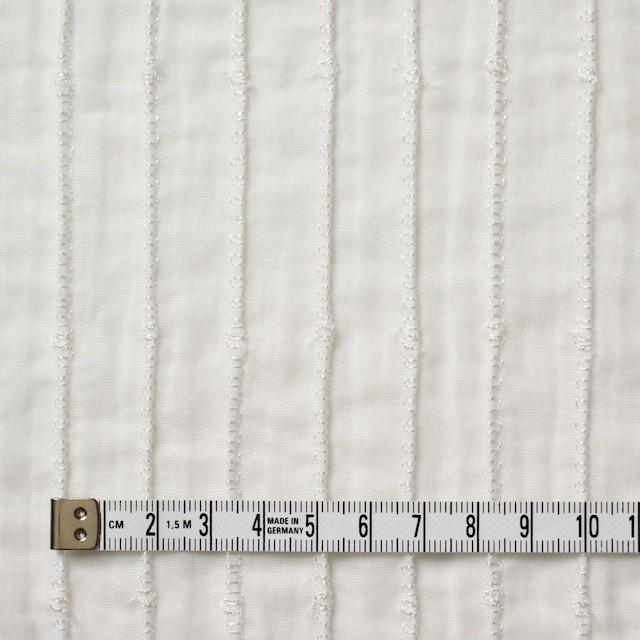 ナイロン&コットン×無地(オフホワイト)×ボイル&ガーゼ_全2色 イメージ4