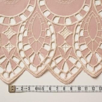 コットン×幾何学模様(アンティークローズ)×シーチング刺繍 サムネイル4