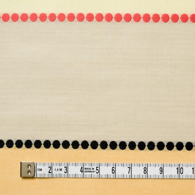 コットン×ボーダー(レモンオレンジ)×ローンドビー イメージ4