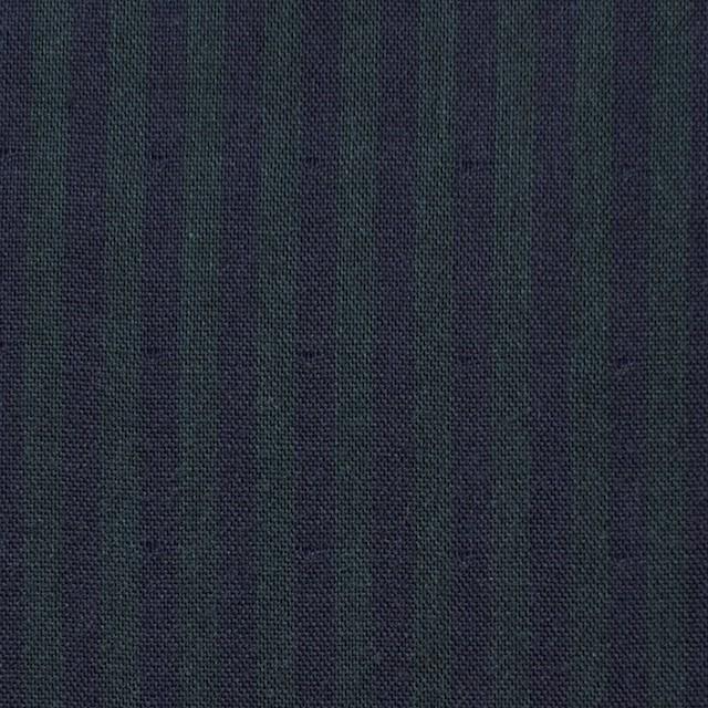 コットン×ストライプ(グリーン×ネイビー)×Wガーゼ イメージ1