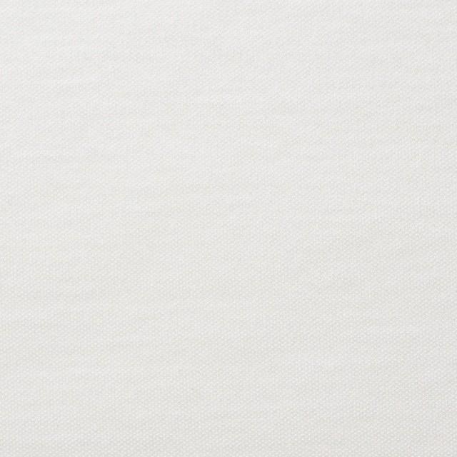 モダール&コットン×無地(オフホワイト)×スムースニット イメージ1