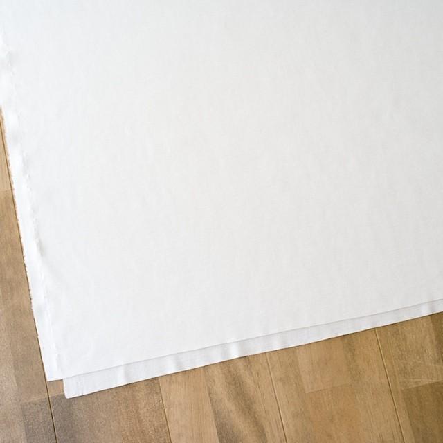 モダール&コットン×無地(オフホワイト)×スムースニット イメージ2