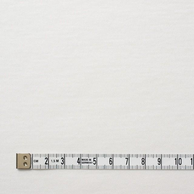 モダール&コットン×無地(オフホワイト)×スムースニット イメージ4