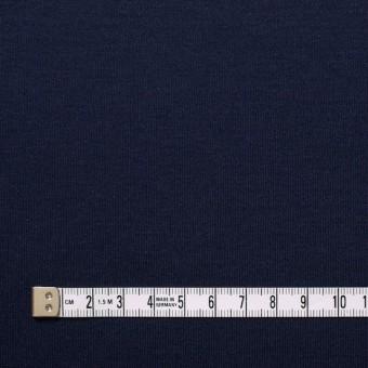 コットン&モダール×無地(ダークネイビー)×スムースニット サムネイル4