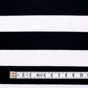 コットン×ボーダー(ブラック)×天竺ニット_全3色 サムネイル4