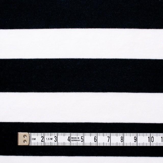 コットン×ボーダー(ブラック)×天竺ニット_全3色 イメージ4