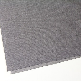 コットン×ストライプ(ブラック)×ダンガリーコード織 サムネイル2