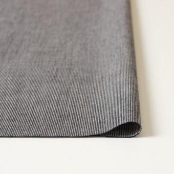 コットン×ストライプ(ブラック)×ダンガリーコード織 サムネイル3
