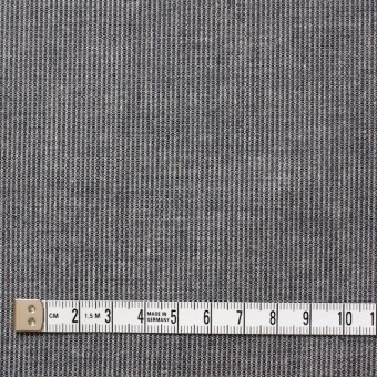 コットン×ストライプ(ブラック)×ダンガリーコード織 サムネイル4
