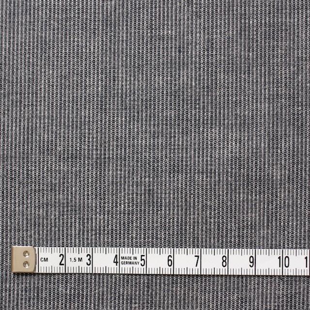 コットン×ストライプ(ブラック)×ダンガリーコード織 イメージ4