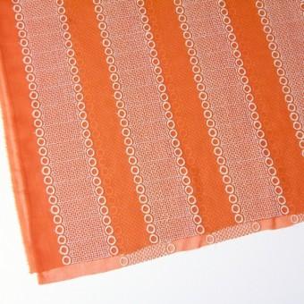 ポリエステル×コラム(オレンジ)×ボイル刺繍(着分)_全3色 サムネイル2
