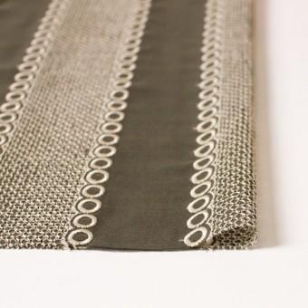 ポリエステル×コラム(カーキグリーン)×ボイル刺繍(着分)_全3色 サムネイル3