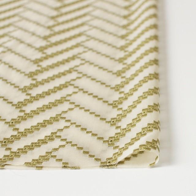 ポリエステル×ウェーブ(キナリ)×ボイル刺繍(着分)_全3色 イメージ3