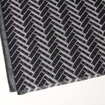 ポリエステル×ウェーブ(ブラック)×ボイル刺繍(着分)_全3色 サムネイル2