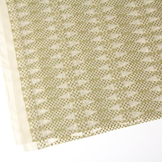 ポリエステル×ダイヤ(キナリ)×ボイル刺繍(着分)_全2色 イメージ2