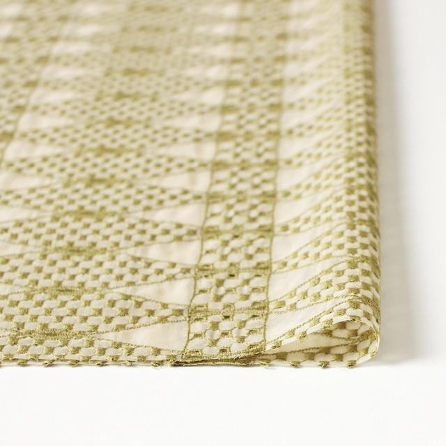 ポリエステル×ダイヤ(キナリ)×ボイル刺繍(着分)_全2色 イメージ3