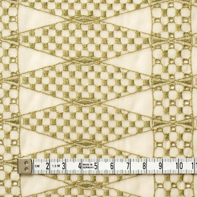 ポリエステル×ダイヤ(キナリ)×ボイル刺繍(着分)_全2色 イメージ4