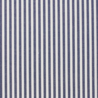 コットン×ストライプ(ネイビー)×オックスフォード_全3色 サムネイル1