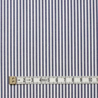 コットン×ストライプ(ネイビー)×オックスフォード_全3色 サムネイル4