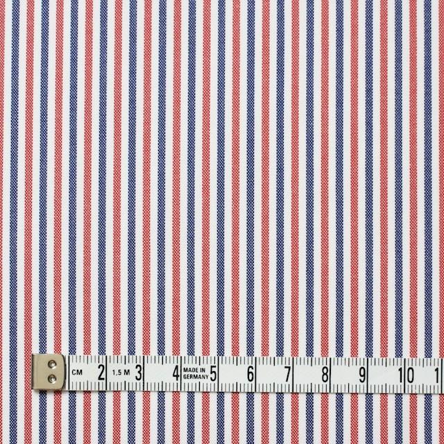 コットン×ストライプ(トリコロール)×オックスフォード_全3色 イメージ4
