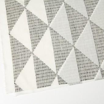 ポリエステル×トライアングル(アイボリー)×ボイル刺繍(着分) サムネイル2