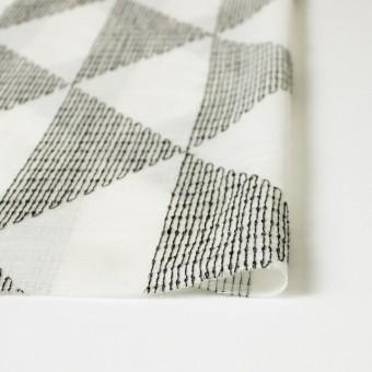 ポリエステル×トライアングル(アイボリー)×ボイル刺繍(着分) サムネイル3