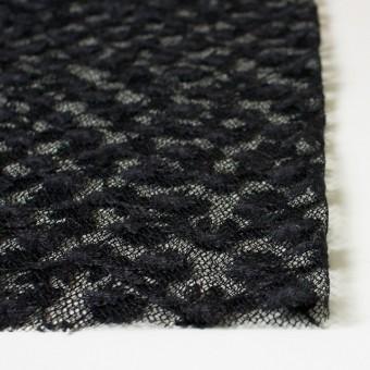 ナイロン×フラワー(ダークネイビー)チュール刺繍(着分) サムネイル3