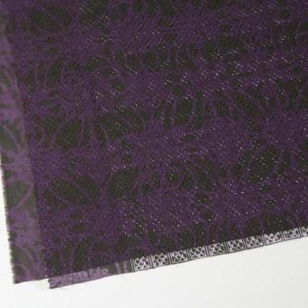コットン×幾何学模様(パープルミックス)×ボイル刺繍(着分) サムネイル2