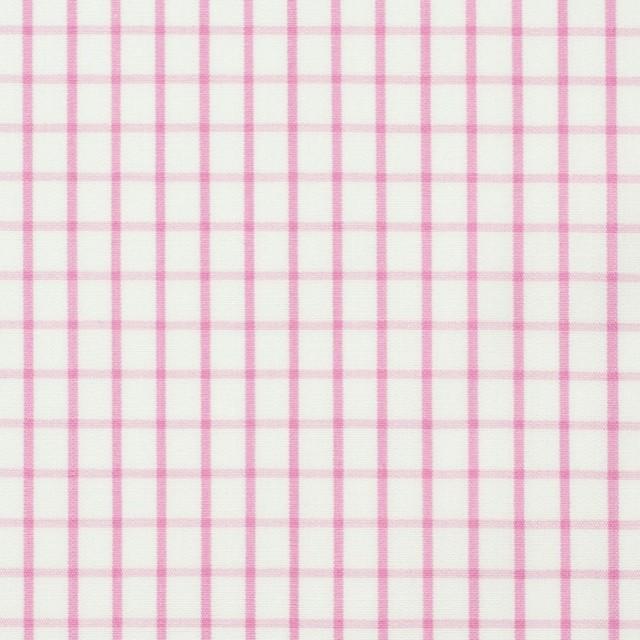 コットン×チェック(パステルピンク)×ブロード_全2色 イメージ1