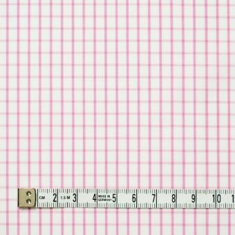コットン×チェック(パステルピンク)×ブロード_全2色 サムネイル4