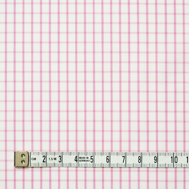 コットン×チェック(パステルピンク)×ブロード_全2色 イメージ4