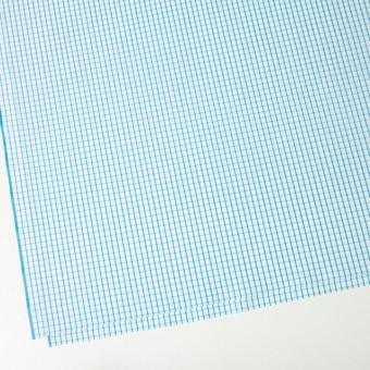 コットン×チェック(パステルブルー)×ブロード_全2色 サムネイル2